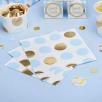 Pattern Works Blue Dots Napkins (16)